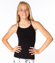 Cage Back Cami for Tweens 7-10