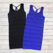 Cage Back Tank Dress for Tweens 7-14