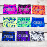 CHEER Tie Dye Boy Shorts for Junior