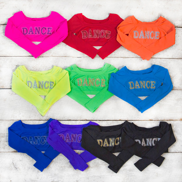 DANCE LS Cropped Tops for Senior