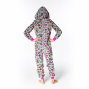 Girl Gang Plush Onesie Back