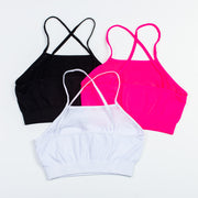 Mesh Top Bra Cami for Tweens 7-14