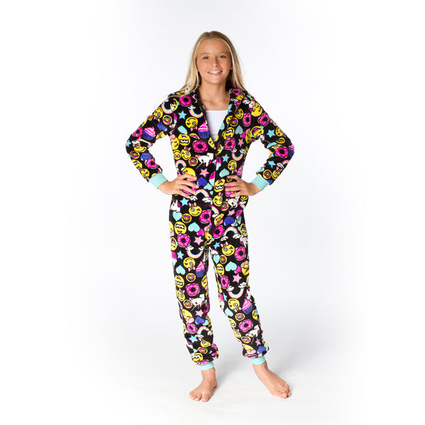 Smiley Faces Plush Onesie