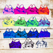 Tie Dye Bra Cami for Little Girls
