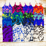 Tie Dye Full Cami for Little Girls