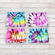 Tie Dye Boy Shorts for Tweens 7-14