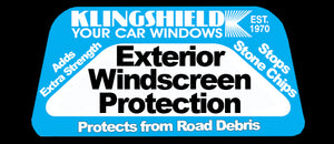 Front Windscreen Large Vehicle - Smash and Grab- Internal Protection Against Rock Throwing -External to Stop Chipping of Windscreen