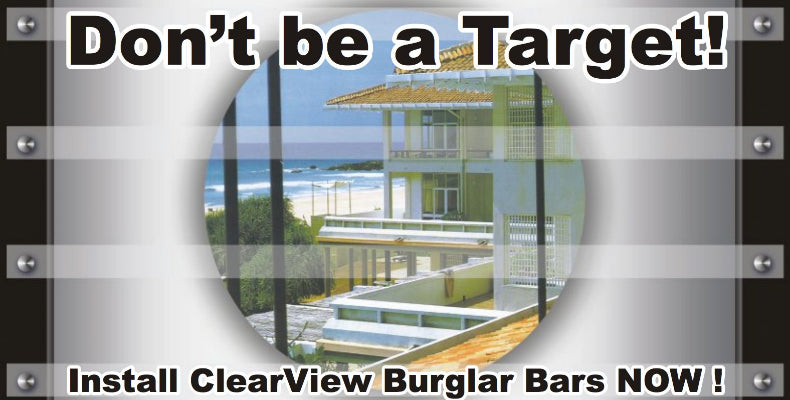 ClearView Burglar Bars
