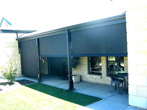 Outdoor Exterior Roller Blinds