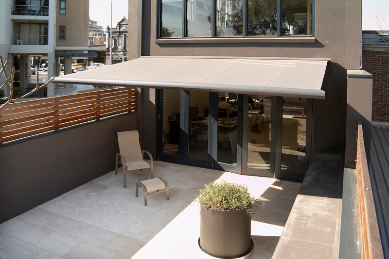 Retractable Folding Arm Awnings- Size Options - Klingshield