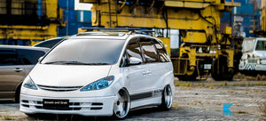 Mini Van Vehicle - Supply & Fitment of Double-Thick Smash and Grab to All Side Windows and Back Window