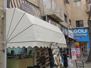 Retractable Pram Style Awning