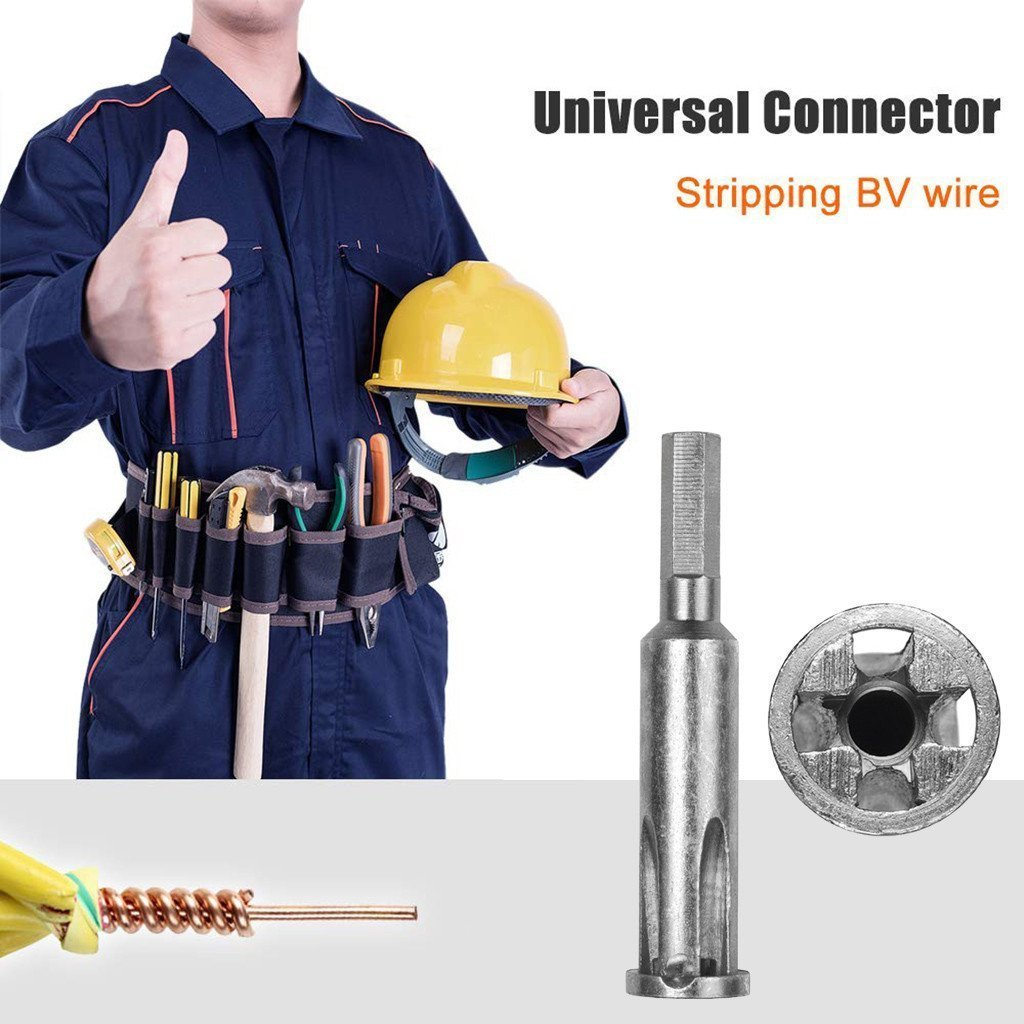Electrician Automatic Wire Stripper Peeling Twisted Line Device Square  xcv