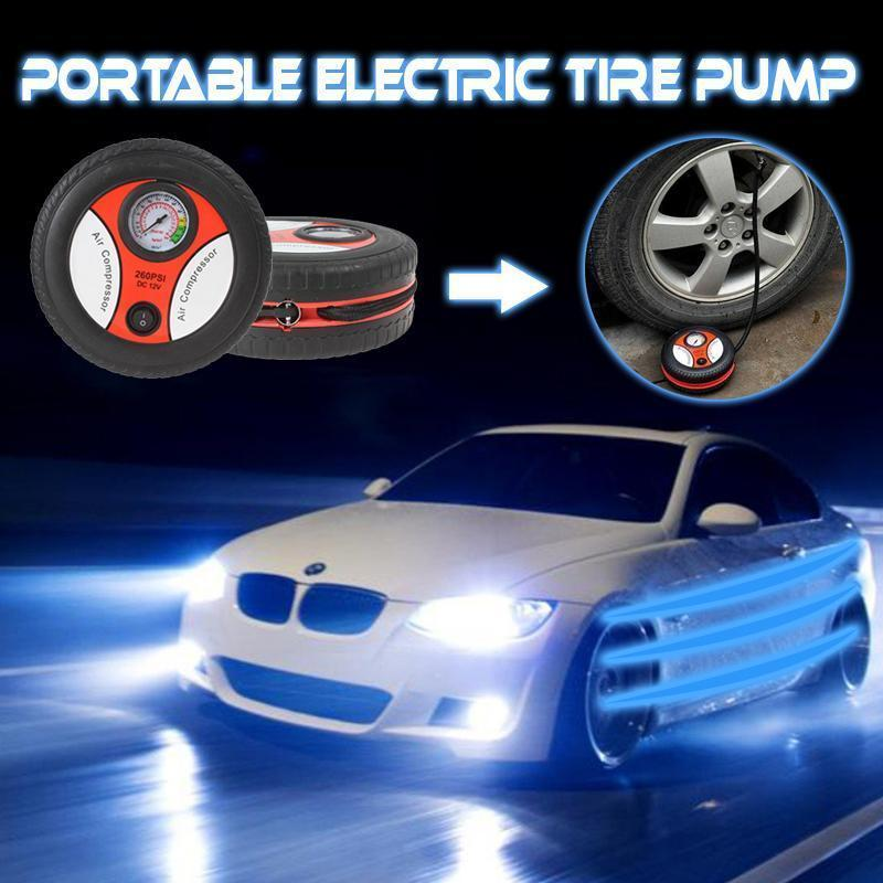 (Last Day 50% OFF!!)Portable Electric Tire Pump—Buy 2 Free Shipping
