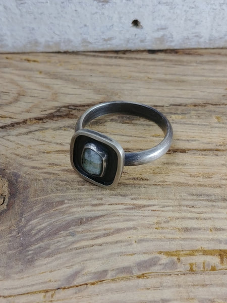 Tourmaline Sterling Silver Ring - Size 7