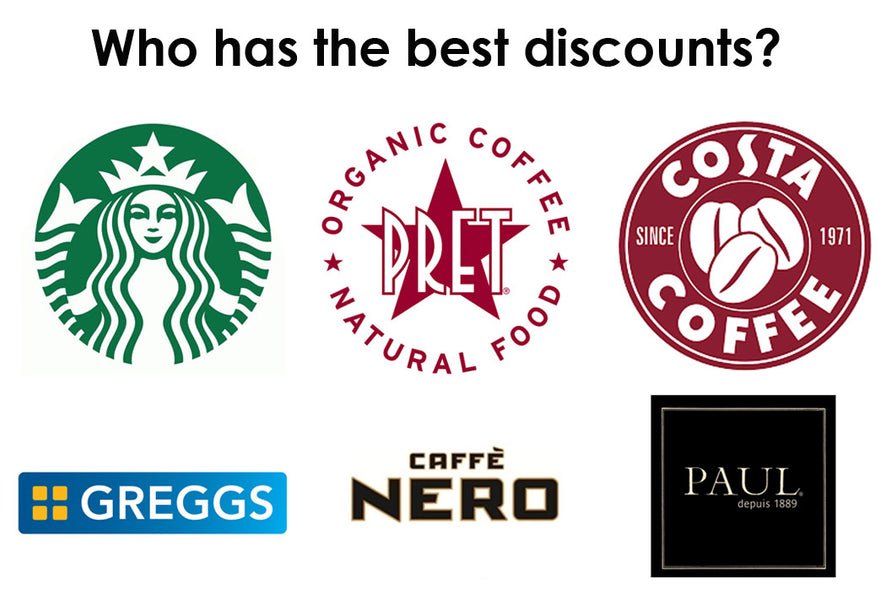 Coffee shop savings – Which UK cafés offer the best discount if you bring a reusable cup?