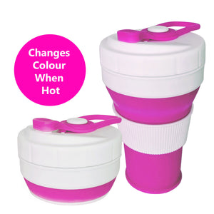 Reusable & Collapsible Coffee Cup