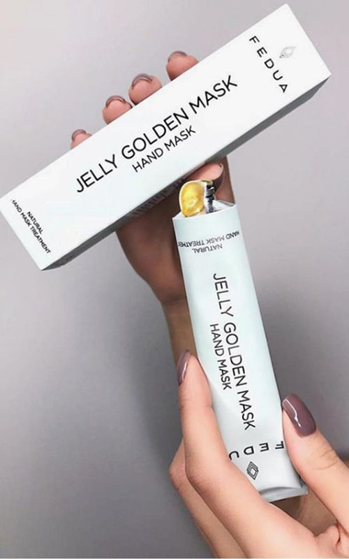 Golden Jelly Hand Mask