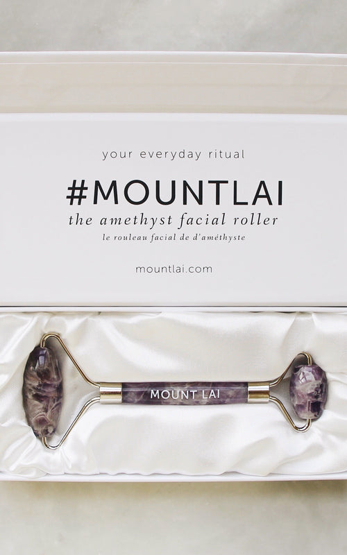 The Amethyst Facial Roller