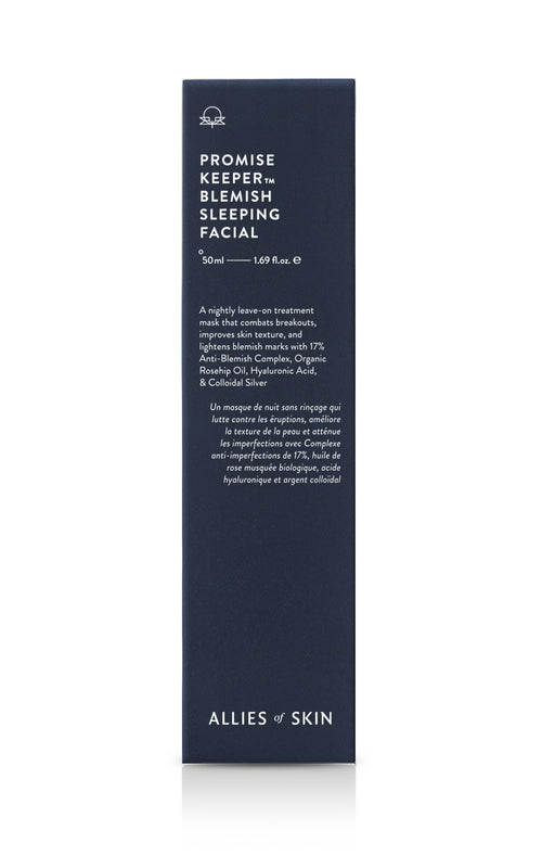 Promise Keeper™ Blemish Sleeping Facial