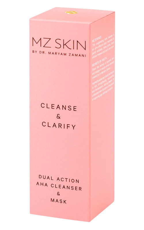 Cleanse & Clarify - Dual Action AHA Cleanser & Mask