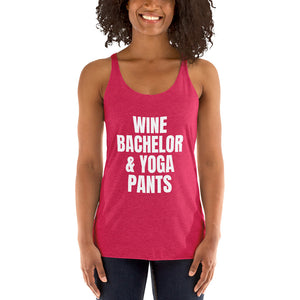 WINE BACHELOR & YOGA PANTS