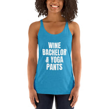 Load image into Gallery viewer, WINE BACHELOR & YOGA PANTS