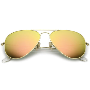 Small Classic Colored Metal Aviators