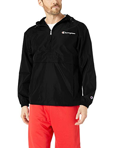 Champion Men's Packable Jacket, Black 549369, XX-Large