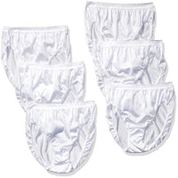Hanes Women's 6 Pack Nylon Hi-Cut Panties, Assorted, 9