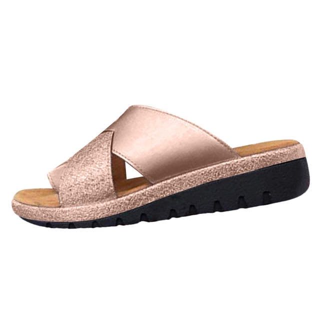 Summer Comfy Cross Sandal