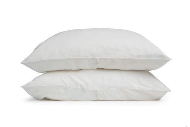 A.L.C. x Parachute Silk Standard Pillowcases (White)