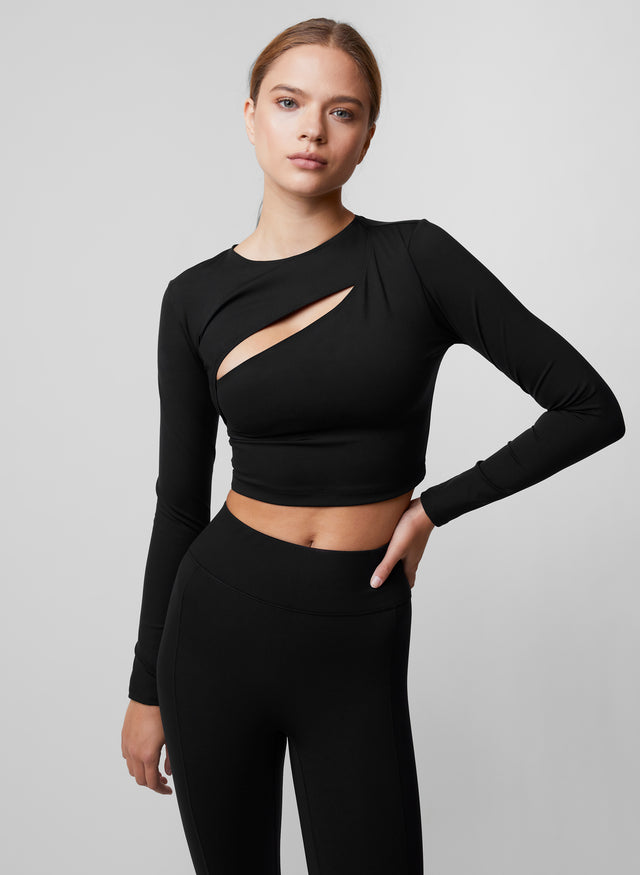 Elliptical Cut Out Top