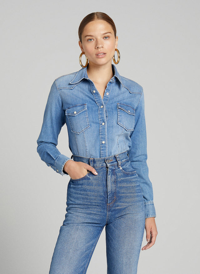 Sullivan Denim Top