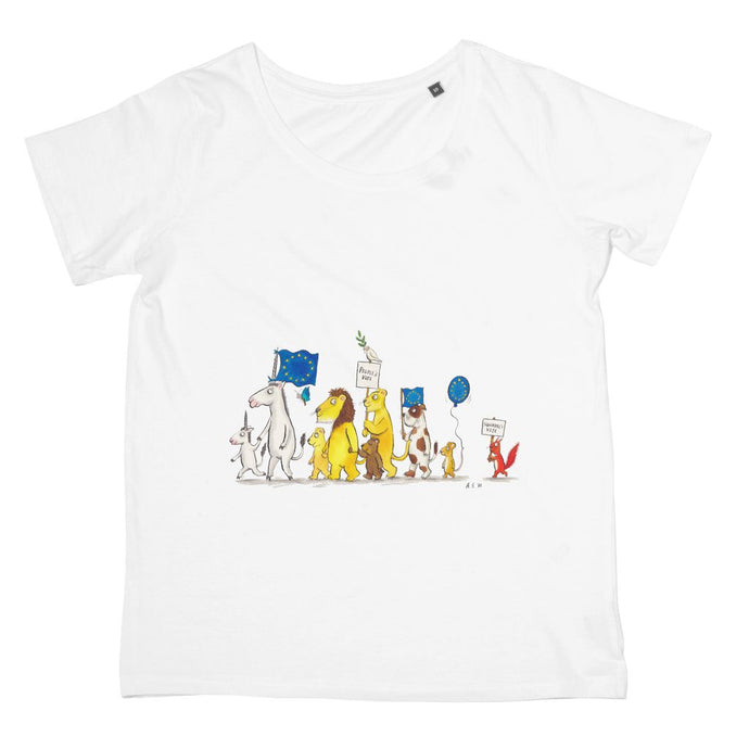 Little People's Vote Womens T-Shirt