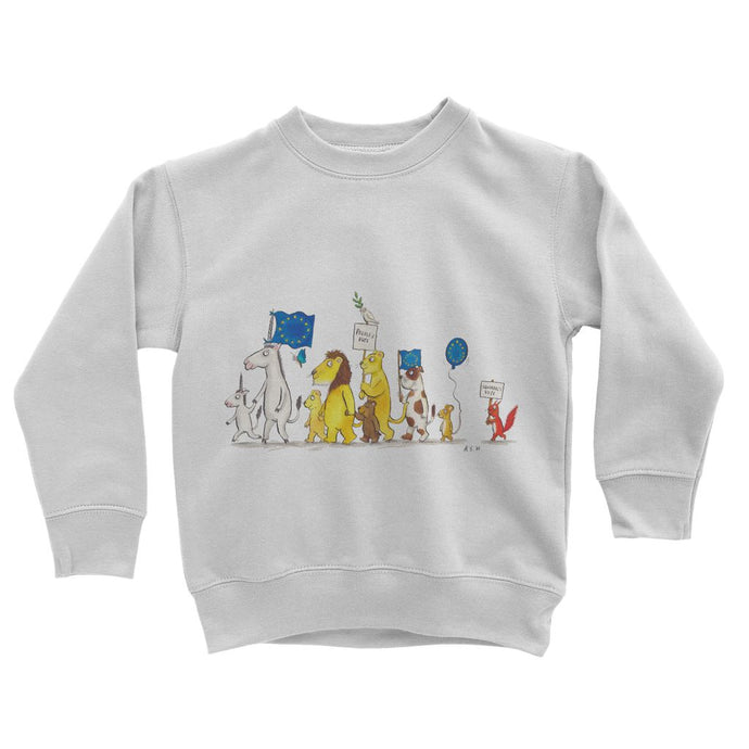 Little People's Vote Kids Sweatshirt