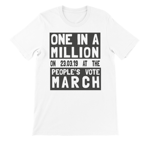 'One in a million' t-shirt
