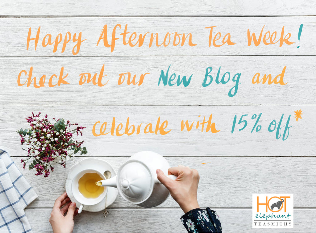 Afternoon Tea Week…brighten up your 4 o'clock, courtesy of the Duchess of Bedford