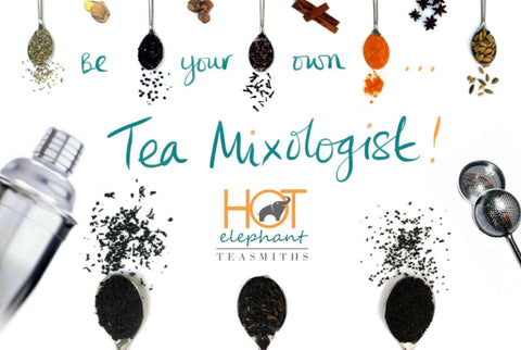 Tea Mixologist - Create your own tea - Hot Elephant