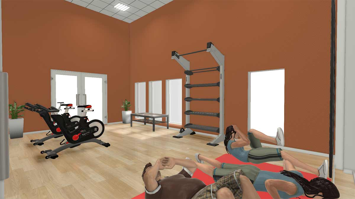 X-CREATE 1-MODULE STORAGE – YOGA ROOM