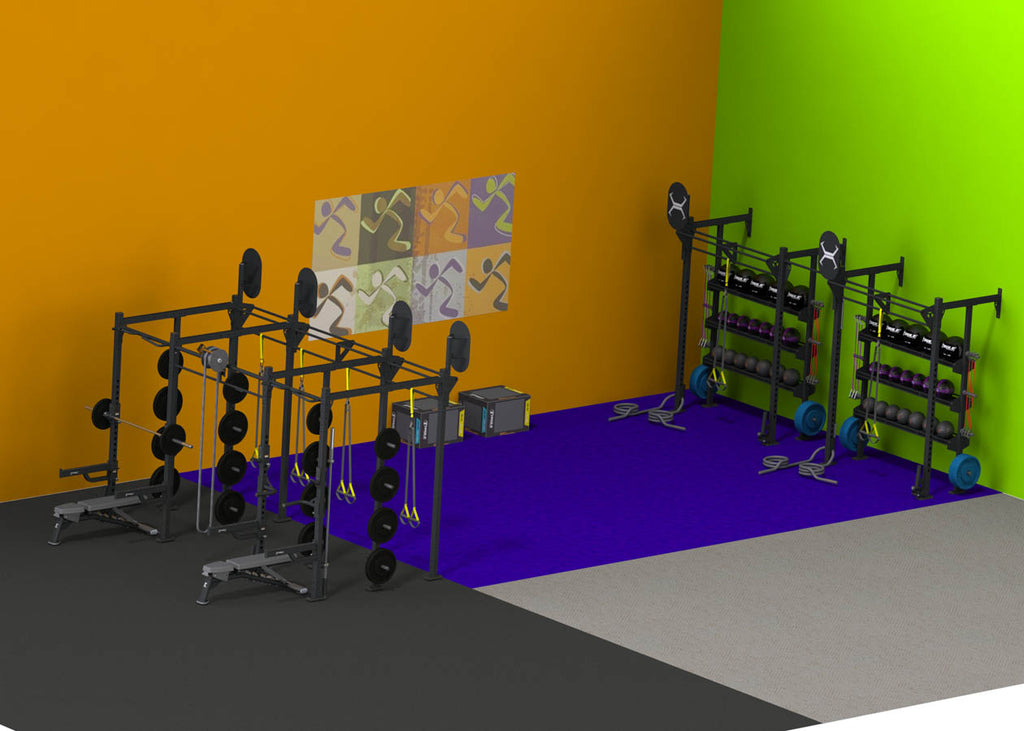 X-RACK – 1000 SQUARE FEET 25′ X 40′