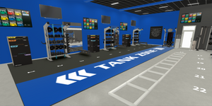Fitness Equipment Spacing Concepts For Social Distancing in Gyms