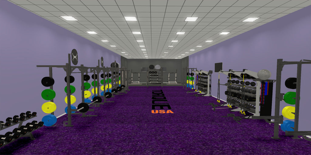 Functional Group Fitness Area