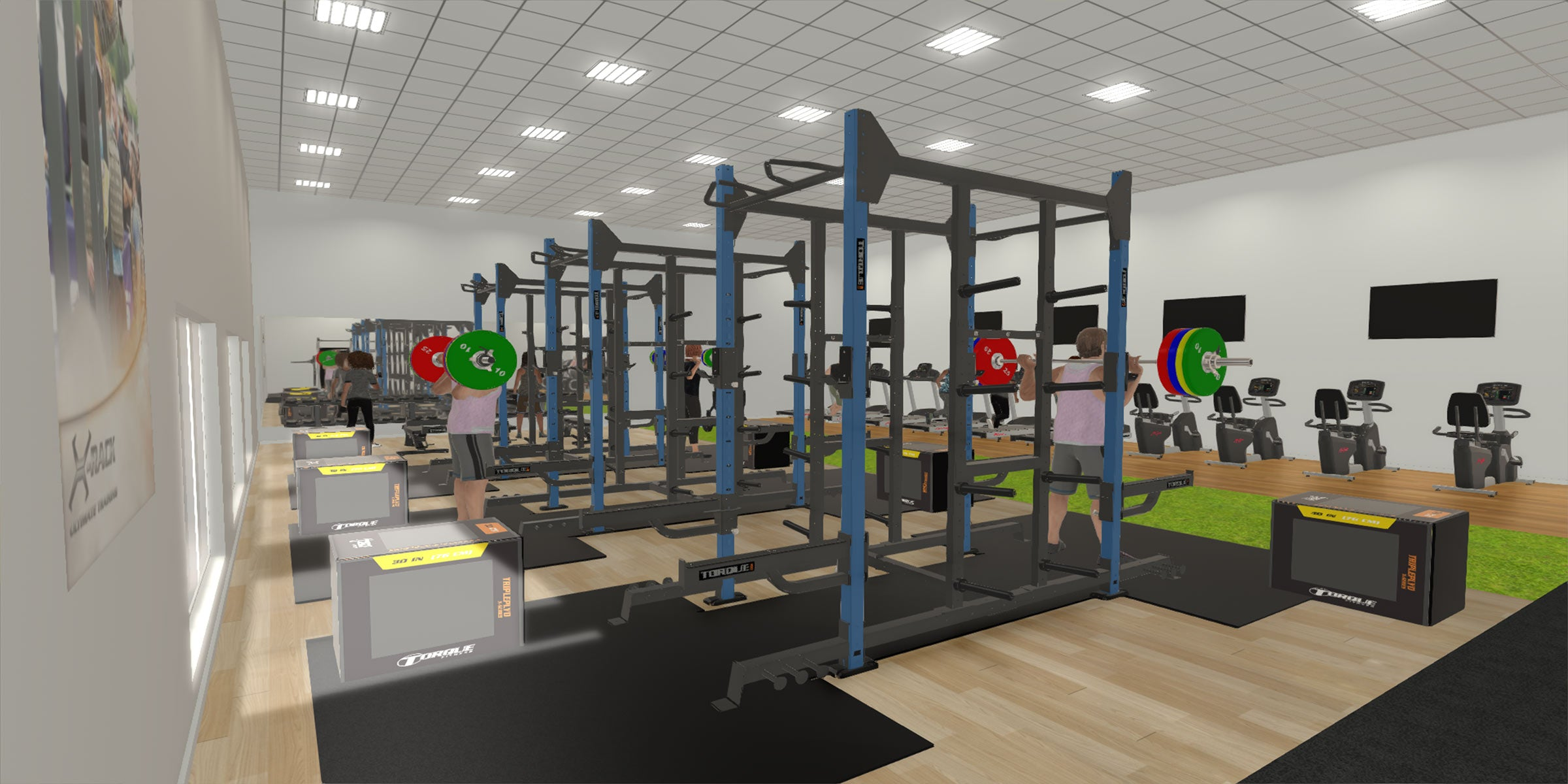 Exercise room ideas interior home gym ideas fantastic most wicked