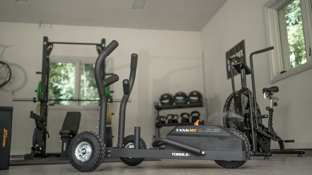 The TANK M1 Push Sled: Your Garage Gym Conditioning Tool