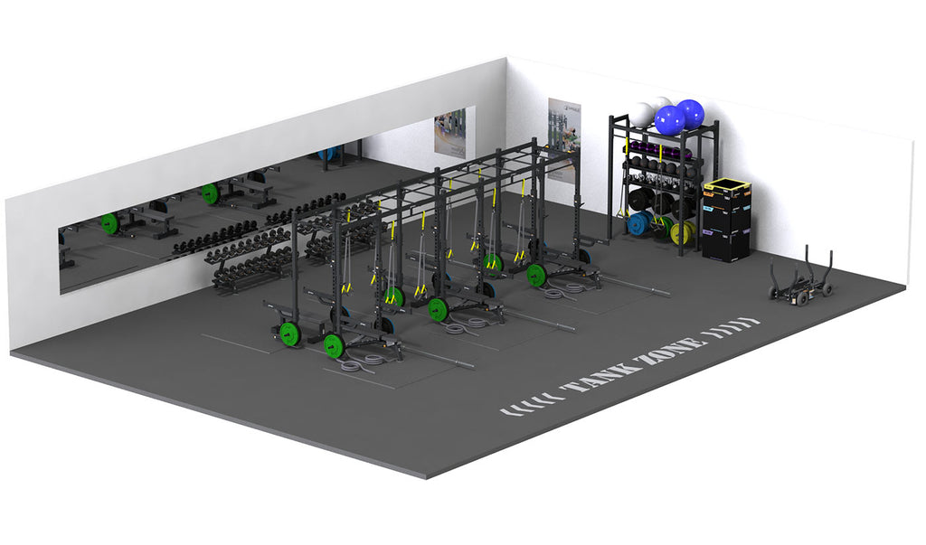 Half Cage Lifting Station Line and Functional Area