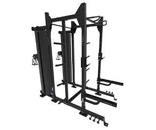 Combo Half Cage And Cable System Torque Fitness
