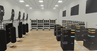x-design functional gym layout