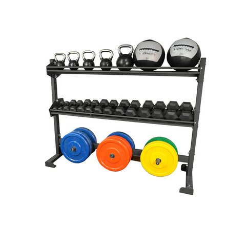 6 Foot Combination Storage Rack