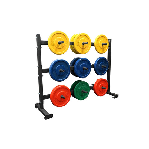 6 Foot Horizontal Weight Storage Rack